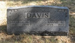 Nannie A. <i>Hearne</i> Davis