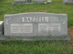 Susie <i>Chaney</i> Bazzell