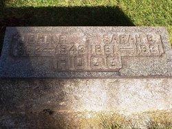 Sarah Isabelle Belle <i>West</i> Hogg
