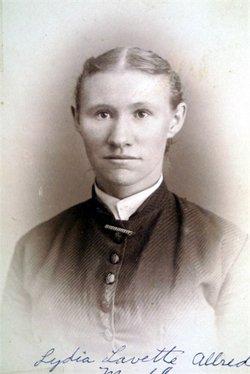 Lydia Lavette <i>Allred</i> Merkley