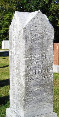 Sarah <i>Beals</i> Albright