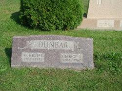 Mary Hester <i>Henington</i> Dunbar