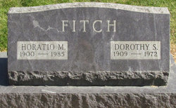 Dorothy S Fitch