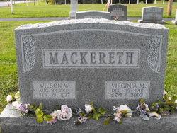 Virginia Mae <i>Knight</i> Mackereth