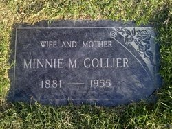 Minnie Mary <i>Lee</i> Collier