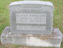 Elzina <i>Thompson</i> Kirkland