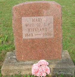 Mary <i>Satterfield</i> Kirkland