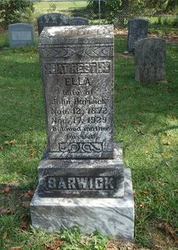 Ella <i>Holmes</i> Barwick