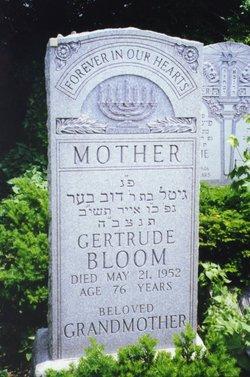 Gertrude <i>Davidka</i> Bloom