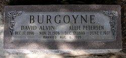 Allie Johanna <i>Petersen</i> Burgoyne