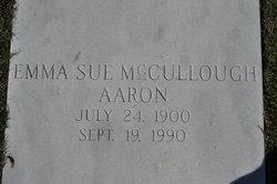 Emma Sue <i>McCullough</i> Aaron