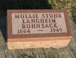Amelia Mollie <i>Stuhr Langheim</i> Bohnsack