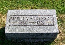 Marilla <i>Milton</i> Anderson