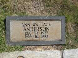 Ann <i>Wallace</i> Anderson
