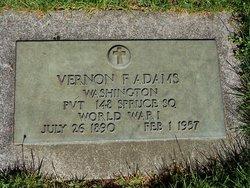 Vernon Frederick Adams