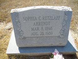 Sophia Caroline <i>Retzlaff</i> Ahrendt