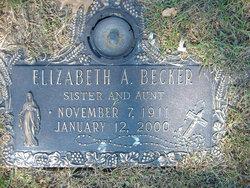 Elizabeth A. Becker