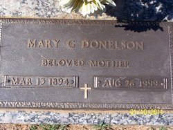Mary G Donelson