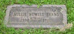 Millie <i>Neville</i> Evans