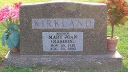 Mary Joan <i>Hicks</i> Kirkland