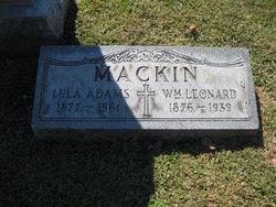 Lula <i>Adams</i> Mackin