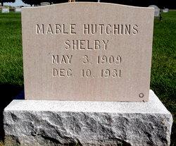 Mabel <i>Hutchins</i> Shelby