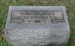 Irene <i>Stevenson</i> Aughineaugh