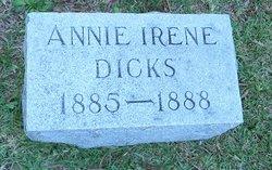 Annie Irene Dicks