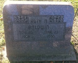 Ruthie Amanda <i>Gustin</i> Baldwin