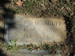 Bert H. Acuff