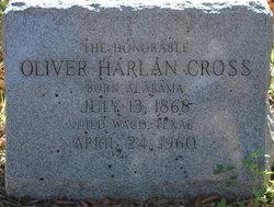 Oliver Harlan Cross