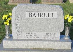 Harold Barrett