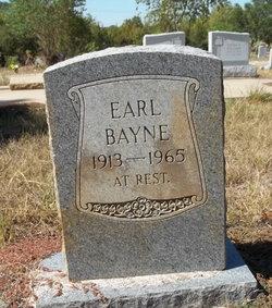 Earl Bayne