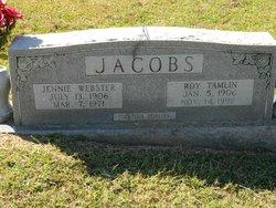 Jennie <i>Webster</i> Jacobs