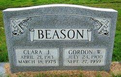 Clara Jane <i>Garrett</i> Beason