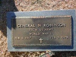 General N Dick Robinson