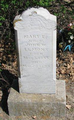Mary Elizabeth <i>Baxter</i> Lemons