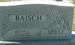 Melvin George Baisch