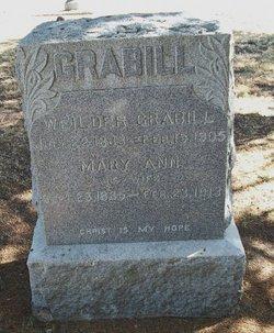 Mary Ann <i>Bressler</i> Grabill