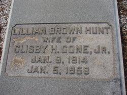 Lillian Brown Hunt Cone
