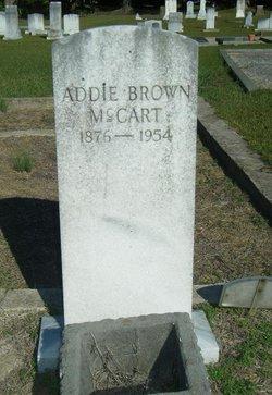 Adeline Addie <i>Brown</i> McCart