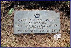 Carl Orson Avery