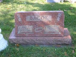 Mary Elizabeth Betty <i>Miller</i> Bacot