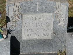 Lonnie Appling, Sr.