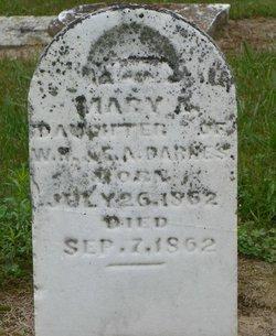 Mary A Barnes