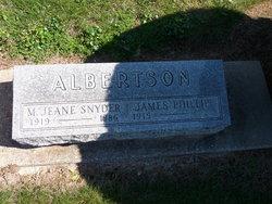 M. Jeane <i>Snyder</i> Albertson