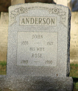 Rose <i>Greene</i> Anderson