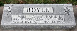 Mamie Roberta <i>Clemans</i> Boyle