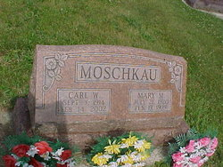 Mary Margaret <i>Garvoille</i> Moschkau