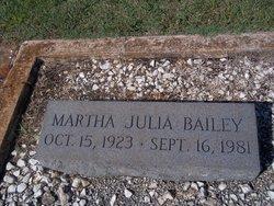 Martha Julia Bailey
